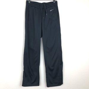 Nike dri-fit fleece pants sz S black gray